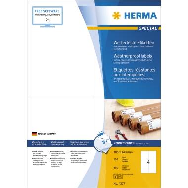 HERMA Folienetikett SPECIAL  105 x 148 mm (B x H)