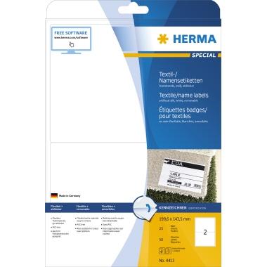 HERMA Namensetikett SPECIAL  199,6 x 143,5 mm (B x H)