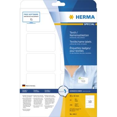 HERMA Namensetikett SPECIAL  80 x 50 mm (B x H)