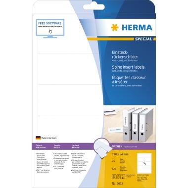 HERMA Rückenschild