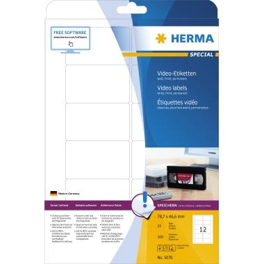 HERMA Videoetikett SPECIAL 78,7 x 46,6 mm (B x H)