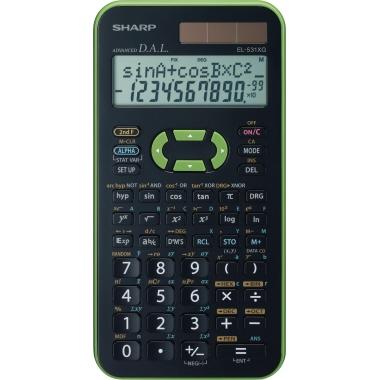 Sharp Schulrechner EL531XG-GR