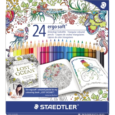 STAEDTLER® Farbstift ergo soft® 157  Etui 24 St./Pack.