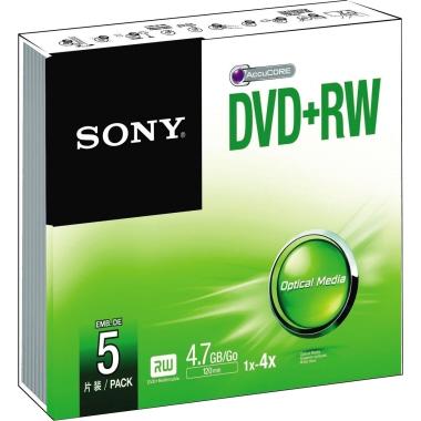 Sony DVD+RW  Slimcase