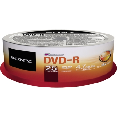 Sony DVD-R  Spindel