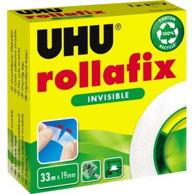 UHU® Klebefilm rollafix  19 mm x 33 m (B x L)