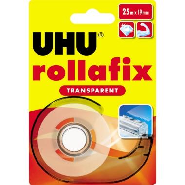 UHU® Klebefilm rollafix  19 mm x 25 m (B x L)