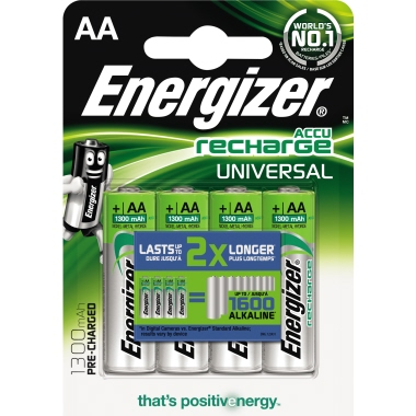 Energizer® Akku Recharge Universal 1.300 mAh