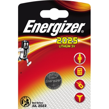 Energizer® Knopfzelle  CR2025 3 V