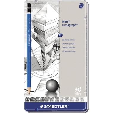 STAEDTLER® Bleistift Mars® Lumograph® 100  12 St./Pack.