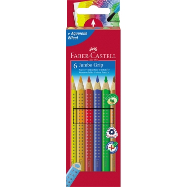Faber-Castell Farbstift Jumbo GRIP  6 St./Pack.