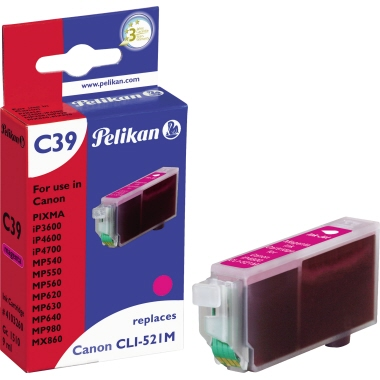Pelikan Tintenpatrone  Canon CLI521M