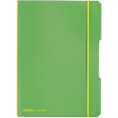 Herlitz Notizbuch my.book flex  DIN A5 Polypropylen grün