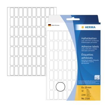 HERMA Universaletikett 8 x 20 mm (B x H)
