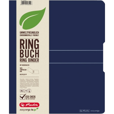Herlitz Ringbuch easy orga to go green  25 mm