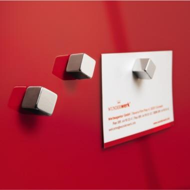 Sigel Magnet SuperDym C5 Strong Würfel 10 x 10 x 10 mm (B x H x T) Neodym, vernickelt 6 St./Pack.