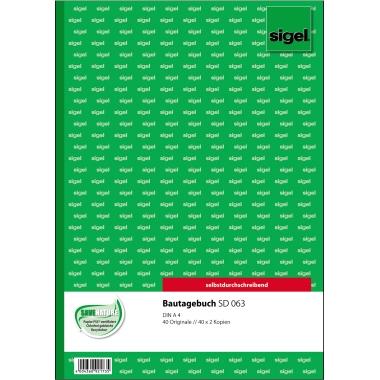 Sigel Bautagebuch