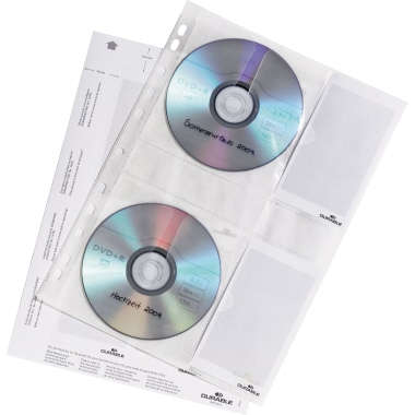 DURABLE CD/DVD Hülle COVER M