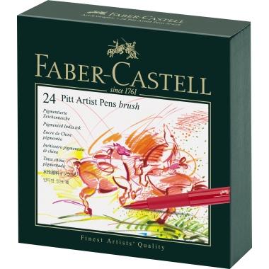 Faber-Castell Tuschestift PITT® ARTIST PEN 24 St./Pack.