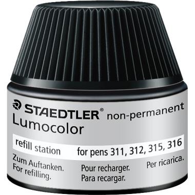 STAEDTLER® Nachfülltinte Feinschreiber Lumocolor® refill station  nicht wasserfest