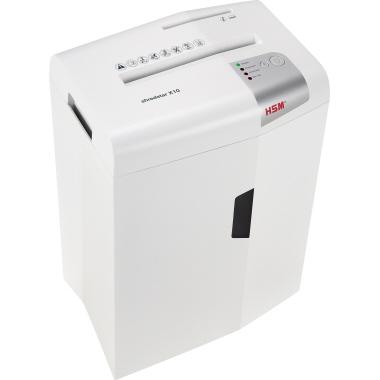 HSM® Aktenvernichter shredstar X10  weiß/silber