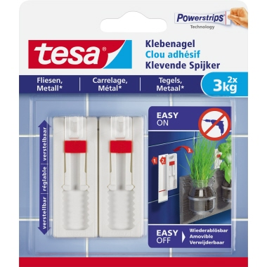 tesa® Klebenagel  Fliesen, Metall
