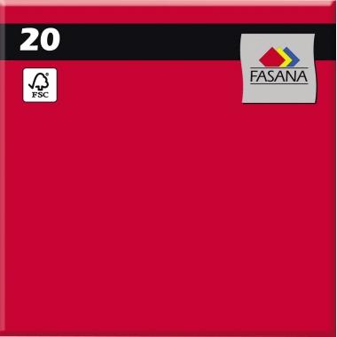 FASANA Serviette 33 x 33 cm (B x L) 3-lagig 20 St./Pack.