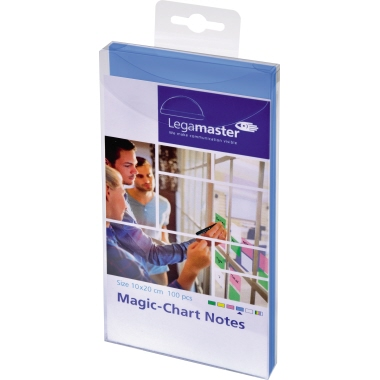 Legamaster Moderationsfolie Magic-Chart Notes  20 x 10 cm (B x H) 100 St./Pack.