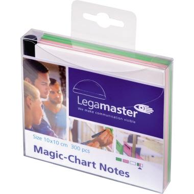 Legamaster Moderationsfolie Magic-Chart Notes 10 x 10 cm (B x H) 300 St./Pack.