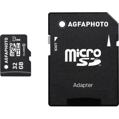 AgfaPhoto Speicherkarte microSDHC