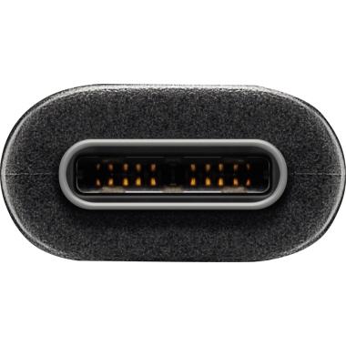 Goobay® USB Kabel SuperSpeed USB-C-Stecker/USB-A-Stecker  schwarz