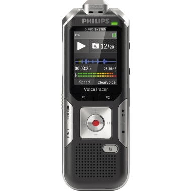Philips Diktiergerät Digital Voice Tracer DVT 6010