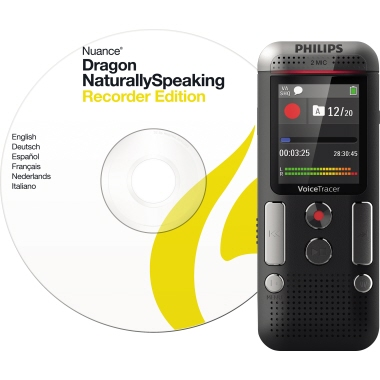 Philips Diktiergerät Digital Voice Tracer DVT 2710