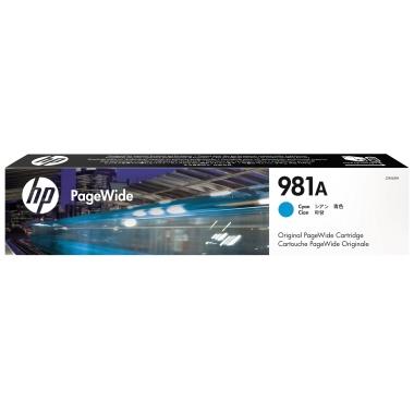 HP Tintenpatrone  981A cyan