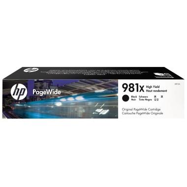 HP Tintenpatrone  981X schwarz