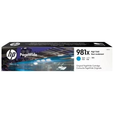 HP Tintenpatrone  981X cyan