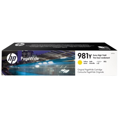 HP Tintenpatrone  981Y gelb