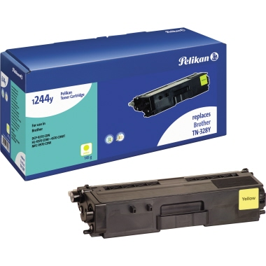 Pelikan Toner  Brother TN328Y gelb