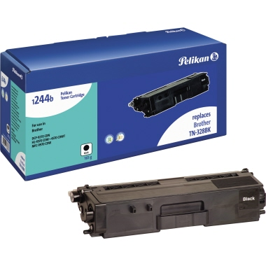 Pelikan Toner  Brother TN328BK schwarz
