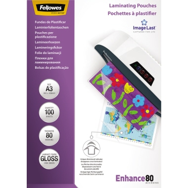 Fellowes® Laminierfolie ImageLast™ Enhance 80  DIN A3