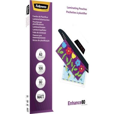 Fellowes® Laminierfolie Enhance 80 DIN A3