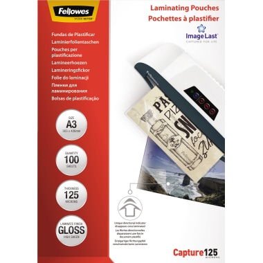 Fellowes® Laminierfolie ImageLast™ Capture 125  DIN A3