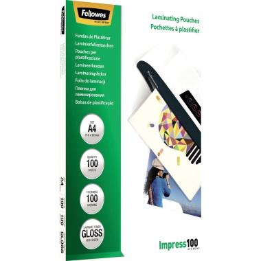 Fellowes® Laminierfolie Impress 100 DIN A4 100 St./Pack.