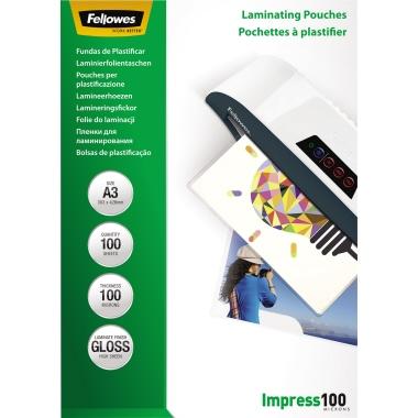 Fellowes® Laminierfolie Impress 100  DIN A3 100 St./Pack.