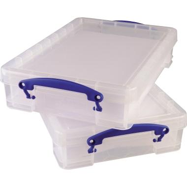 Really Useful Box Aufbewahrungsbox  39 x 8,8 x 24 cm (B x H x T) 4 l