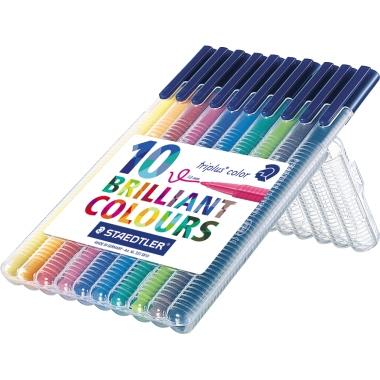 STAEDTLER® Fasermaler triplus® color 323  10 St./Pack.