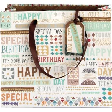 Artebene Geschenktasche  Happy Birthday