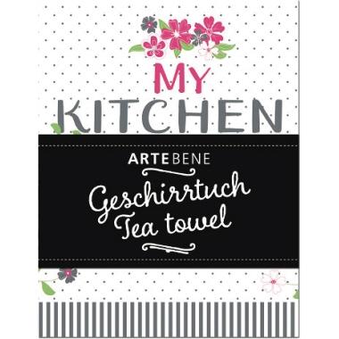 Artebene Geschirrhandtuch My kitchen is for dancing