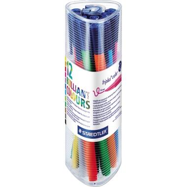 STAEDTLER® Fasermaler triplus® color 323  12 St./Pack.