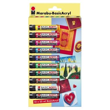Marabu Acrylfarbe Basic Acryl